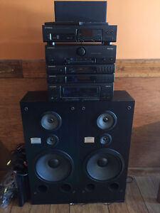 Pioneer surround sound stereo system