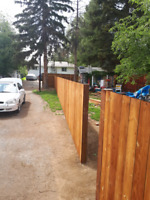 New fence construction or repair existing fence