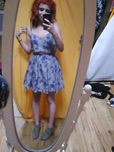 Womens floral dress new condition