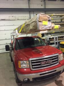 Rack en aluminium sur mesure pour pick-up