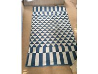 Moroccan style Aztec large rug