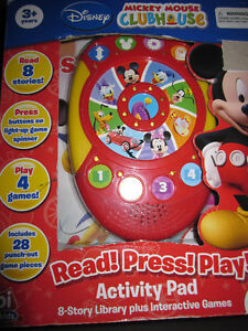 Disney's Mickey Mouse Clubhouse Read,Press,Play, NEW in box Kitchener / Waterloo Kitchener Area image 2
