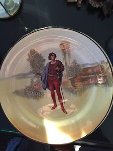 "Royal Doulton Shakespeare Series plate ""Romeo"" mint $50"