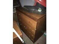 Bargain - chest of drawers