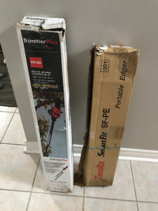 Trimmer Plus Pole Chainsaw and Tanaka Commercial Edger NEW