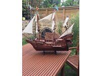 Golden hind boat