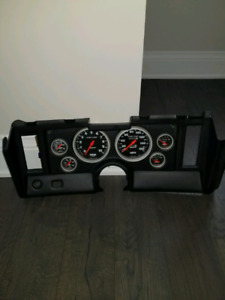 BRAND NEW panel with full auto meter gauges for a 69 Camaro..