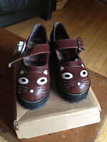 Cat Vamp Creepers Shoes size 8