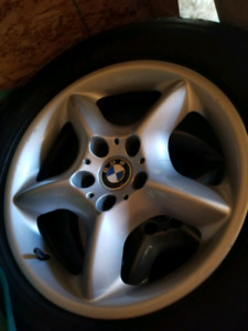 Bmw rims with winter tires! Set for BMW X5!
