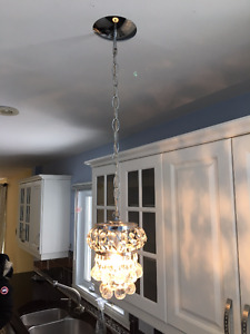 two pendant lamps