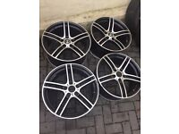 "Alloy wheels 19"" BMW 313 style staggered"