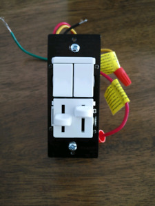 Legrand - Pass & Seymour Single Pole or 3 Way LED Dimmer and Fan