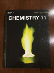 Nelson Chemistry 11 Hardcover Textbook (University Preparation)