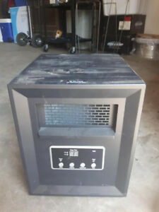Electric Infrared Compact Space Heater