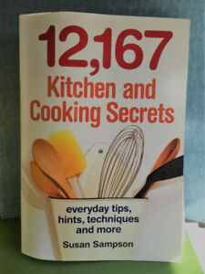 12,167 Kitchen and Cooking Secrets Soft-cover Book - Good Cond!