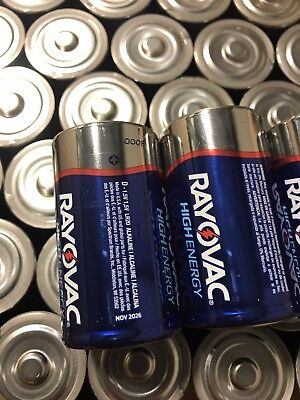 D Cell Batteries 40 Rayovac Best Deal On eBay Free (Best D Cell Battery Charger)
