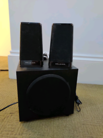 Working speakers and subwoofer