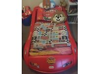 Little tikes limited edition lightening McQueen bed