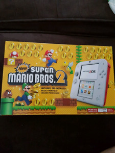 Nintendo 2DS (White/Red) MINT CONDITION