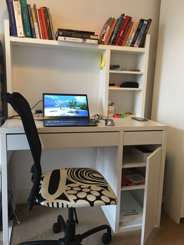 Study Table And Chair Ikea Micke Workstation With Torbj 214 Rn