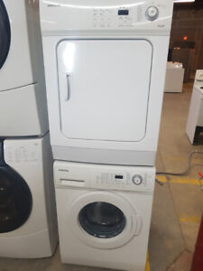 "Washer Dryer Front Load - 24"" wide - DURHAM APPLIANCES LTD."