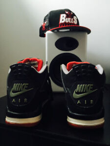 Air Jordan 4 cement black (1999)