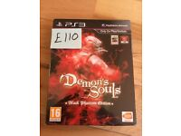 Demon's Souls Black Phantom Edition PS3 Game