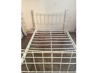 FREE double metal bed