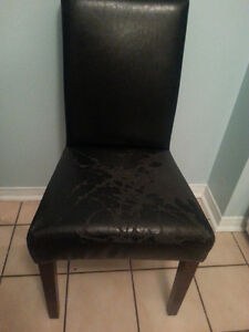 Black Chairs, Cushioned, save $105 each! Windsor Region Ontario image 4