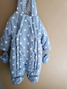 0-3 month snowsuit