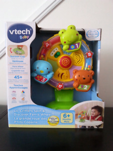 New Vtech Lil' Critters Spin & Discover Ferris Wheel
