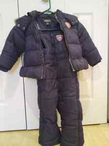 Roots Toddler Girl Snowsuit size 2