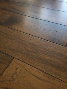 75sq ft of new Gaylord Hardwood Flooring