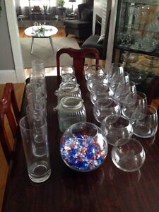 Wedding centre glass for sale