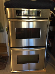 Kitchen Aid Double Oven true convection and Gas cook top