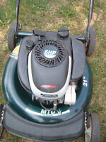 Gas lawn mower MTD Yard Machines Centura LE  in good condition