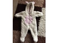 Baby girls next snowsuit 3-6