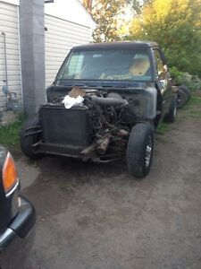 1989 dodge ram 2wd frame/rolling chassis