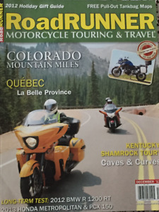 27 issues of Roadrunner Motorcycle Touring and Travel magazines