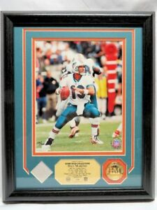 DAN MARINO, Miami Dolphins GAME USED JERSEY PHOTOMINT, Ltd Ed
