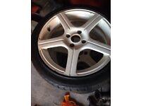3 sets of alloy wheels
