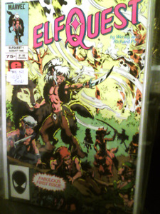 "First ""Twelve"" Issues of  "" ELF QUEST"""