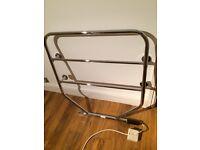 Dimplex electric heated towel rail