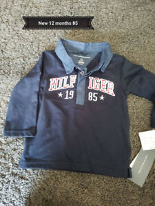 Tommy Hilfiger Polo BNWT size 12 months