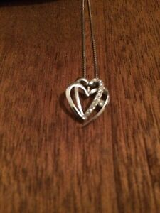 Canadian ice sliver womens necklace
