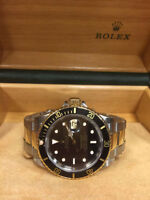 Rolex Submariner 18K Gold and Stainless Steel