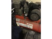 Air compressor 50L with air tools