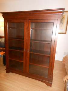 Morgan Glass-doored Bookcase