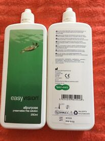Contact lens solution brand new