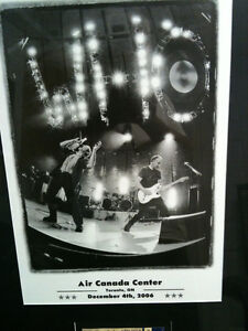 The Who Framed Poster and Concert Ticket Kitchener / Waterloo Kitchener Area image 6